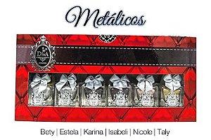 Kit Esmalte Diva Metalico (Coleção Com 6 Lindos Esmaltes)