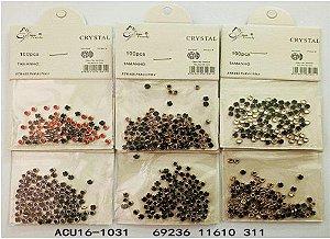 Strass Joia de Unha acu-16-1031 Valor Unitário.