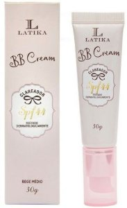 BB Cream Latika Clareador FPS 15 Base Bege médio