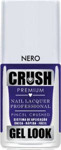 Esmalte Crush Gel Look Nero