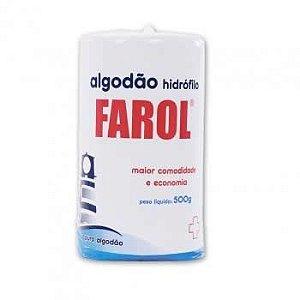 Algodão Farol Hidrófilo - 500 G