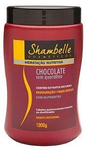 Shambelle Hidratação Nutritiva Chocolate com Queratina 1000g