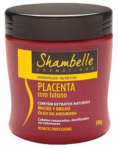 Shambelle Hidratação Nutritiva Placenta com Tutano 500g