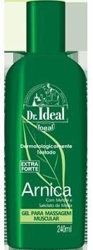 Ideal Gel para Massagem Muscular Arnica - 240ml