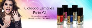 Kit Coleçao Esmaltes Preta Gil com 10 esmaltes (nesta promoção a unidade sai por 6,00 reais)