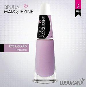 Esmalte Bruna Marquezine Cremoso Rosa Claro
