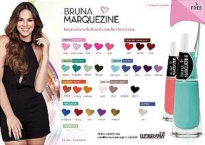 Esmaltes Bruna Markezine 12 cores a escolher (Kit com 12 esmaltes)