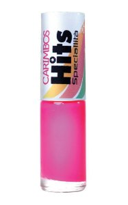 Esmalte carimbo Hits Pink Estelar Bilha na Balada