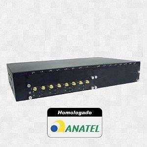 Gateway GSM (Chipeira) – PlugCell GV4000 - 8 canais