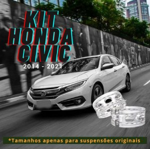 Honda Civic (2014-2021) - Suspensão Original