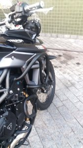 Protetor Motor Triumph XR/XC/XCX/XRX/XCA (SUPERIOR)