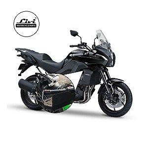 Protetor Mão Envolvente Kawasaki Versys 1000 até 2015