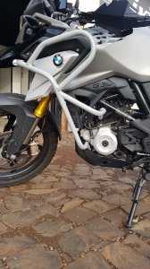 Protetor carenagem BMW G310GS!