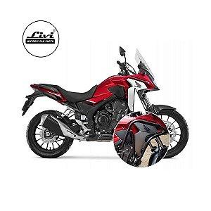 Protetor Carenagem Honda CB 500x 2020 com pedaleiras