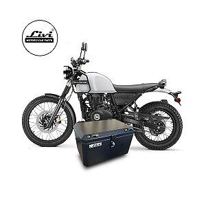 Top case Livi 50 litros moto Royal Enfield Himalayan + Suporte.