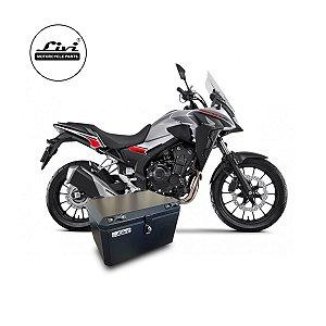 Baú central para Honda CB 500x 2020 50 litros + Suporte.