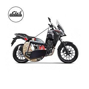 Protetores Mão ( Envolvente - Plus ) Motos Honda CB 500X 2020