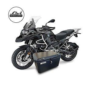 Baú Central Top Case 50 Litros Livi Exclusivo Para Moto BMW R 1200 GS Adventure 2013 em diante ( Necessário substituir os suportes para instalação).