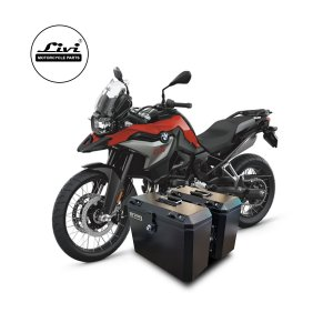 Baús Laterais 35 Litros Livi Exclusivos Para Moto BMW F850 GS.