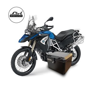 Baús central 43 Livi litros BMW F800 GS Adventure.