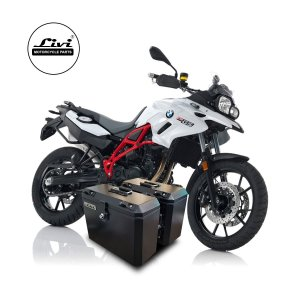 Baús Laterais 28 Litros Livi Exclusivos Para Moto BMW F700 GS