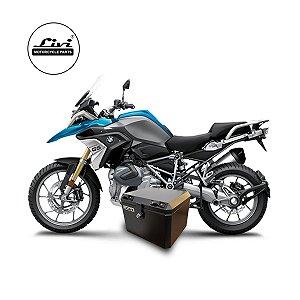 Baús central 43 Livi Exclusivos Para Moto BMW R 1200 GS 2013 em diante + Suporte.