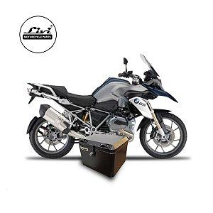 Baús central 43 Livi Exclusivos Para Moto BMW R 1200 GS 2008 A 2012 + Suporte.