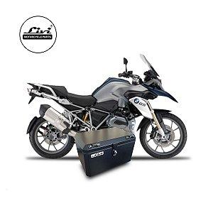 Baús central 50 Livi Exclusivos Para Moto BMW R 1200 GS 2008 A 2012 + Suporte.