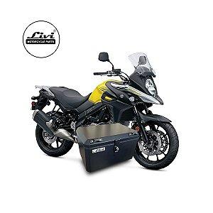Baú Central Top Case 50 Litros Livi Exclusivo Para Moto V-Strom 650 2017 em diante