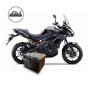 Baú Central Top Case 43 Litros Livi Exclusivo Para Moto Versys 650 2016 em diante