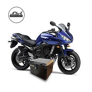 Baú Central Top Case 43 Litros Livi Exclusivo Para Moto Fazer 600 + Suporte.