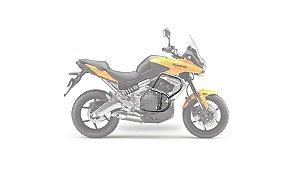 Protetor motor Kawasaki Versys 650 até 2015( com pedaleiras)!