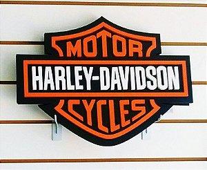 Decoração de Parede - Símbolo Harley Davidson - IMPERDÍVEL!!