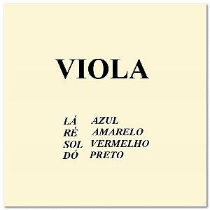 Encordoamento para Viola Mauro Calixto completo Padrão 200