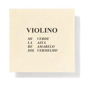 Encordoamento para Violino Mauro Calixto completo Padrão 100