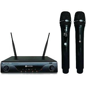 Microfone Sem Fio Kadosh Kdsw412m Bateria Recarregável lítio
