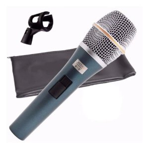 Microfone Kadosh K98 Com Capa E Cachimbo Nf