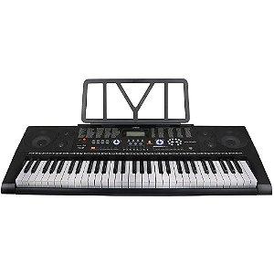 Teclado Musical Profissional KeyPower Kep300 usb 61 Teclas