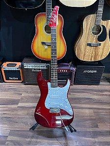 Guitarra seizi vision vermelha stratocaster - outlet