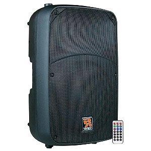 Caixa Ativa Staner Sr212a 12 Pol 200w Usb Bluetooth Bi ampli