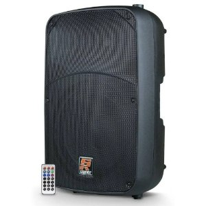 Caixa Ativa Staner Sr315a 15 Pol 300w Bluetooth Bi amplifi