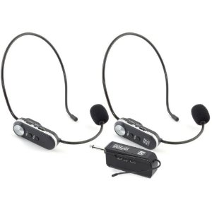Microfone sem fio Staner Headset Sfw20 Duplo Recarregável