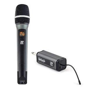 Microfone sem fio Staner Sfh10 Bastão Recarregável litio