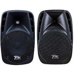 Kit Caixas Acústicas Ativa e Passiva PZ ProAudio PX12 12Pol