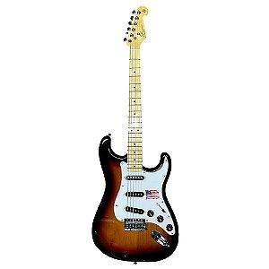 Guitarra SX American Alder Vintage Sunburst Sstalder