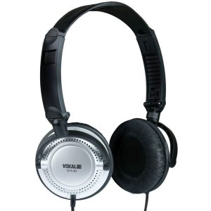 Fone de ouvido Vokal VH40 Prata profissional 8094