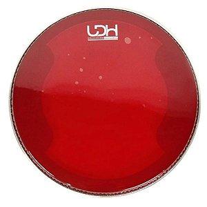 Pele Luen 14 hidráulica Vermelha Duo Lub Clear Drumhead