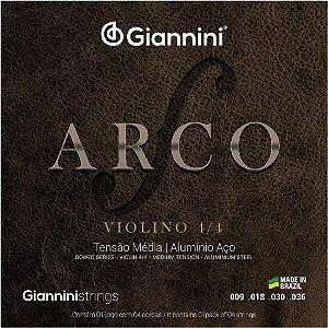 Encordoamento Giannini Violino GEAVVA 5972