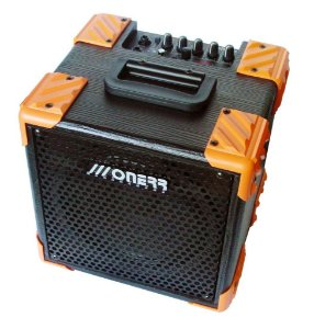 amplificador cubo onerr block 20 tu guitarra 20w c/ afinador metronomo drive