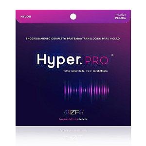 Encordoamento Hyperpro Violão Nylon Tensão Pesada